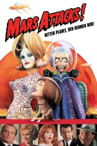 "Plakat von ""Mars Attacks!"""