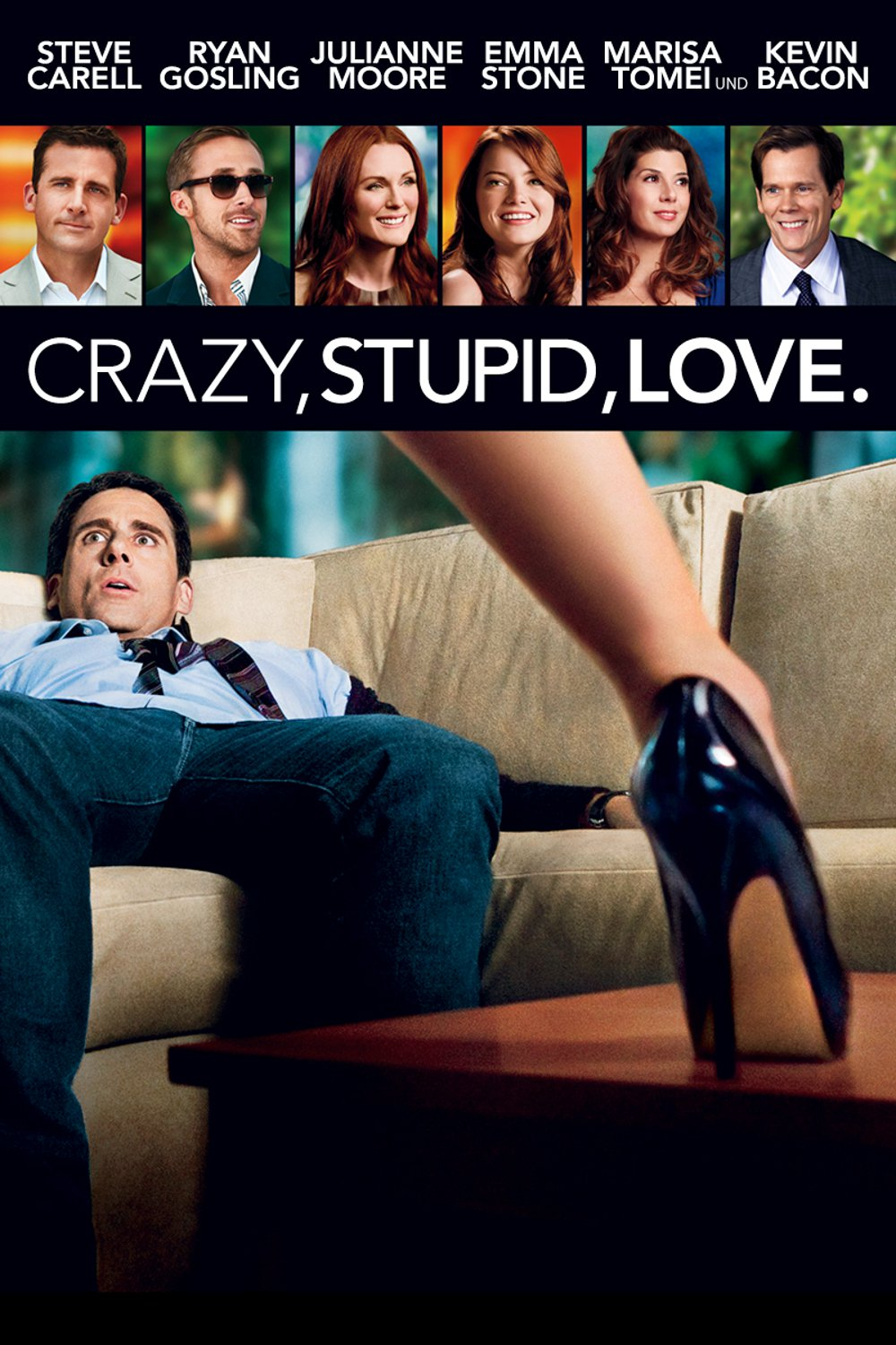 "Plakat von ""Crazy, Stupid, Love."""