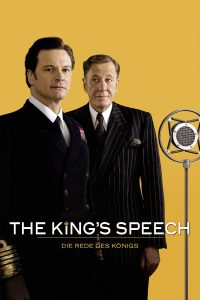 "Plakat von ""The King's Speech"""